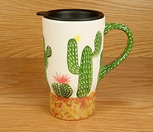 Hamilton Cactus Travel Mug