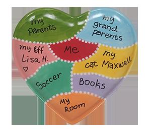 Hamilton Map Of My Heart