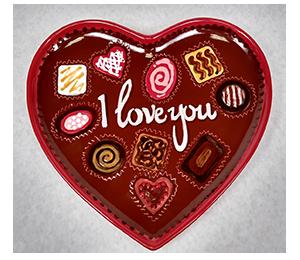 Hamilton Valentine's Chocolate