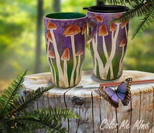 Hamilton Mushroom Mugs