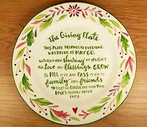 Princeton The Giving Plate