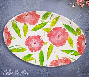 Princeton Floral Paper Stamping