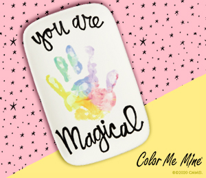 Princeton Rainbow Hand-print