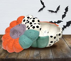 Princeton Color Block Pumpkin