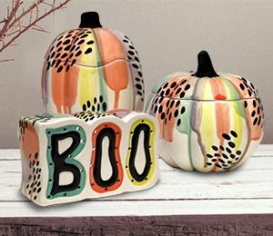 Princeton Drippy Pumpkin Box