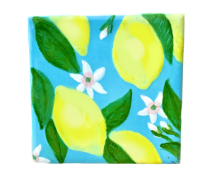 Princeton Lemon Square Tile
