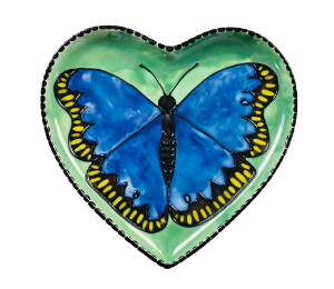 Princeton Butterfly Plate